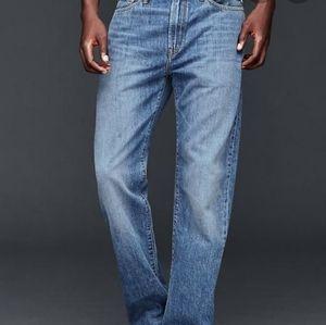 Gap 1969 Premium Straight Light Fade Jeans 36/34